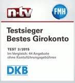Auszeichnung DKB Girokonto