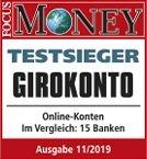 DKB Girokonto Testsieger