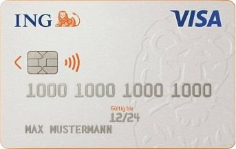 ING-DiBa Visa Kreditkarte