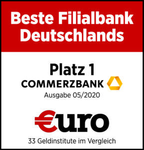 Commerzbank Auszeichnung Girokonto
