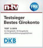 DKB Auszeichnung Konto