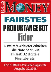 Fidor Bank Auszeichnung Girokonto