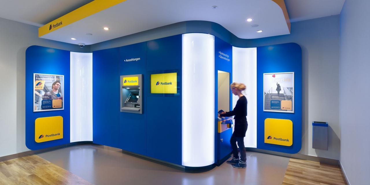 Postbank Cash Recycler – Kostenlos Scheine & Münzen einzahlen!