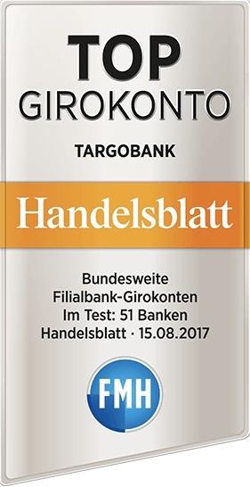 Targobank Auszeichnung Konto