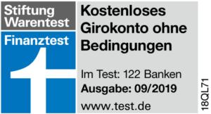 Norisbank Auszeichnung Stiftung Warentest