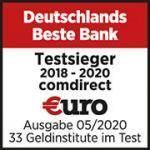 Comdirect Siegel Testsieger