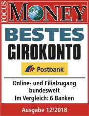 Postbank Auszeichnung bestes Girokonto