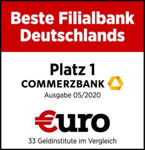 Auszeichnung Commerzbank Unterkonto