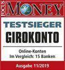 Testsieger Focus Money DKB