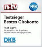 Girokonto DKB Auszeichnung n-tv