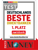 Norisbank beste Direktbank